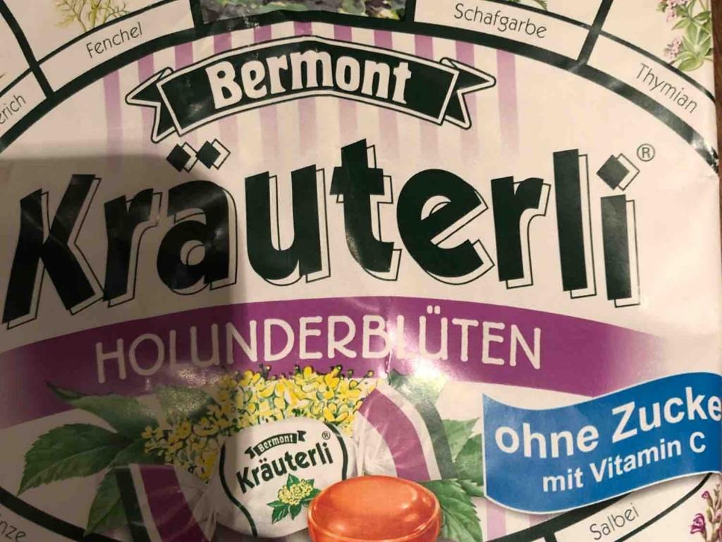 Kräuterli Bonbons, Holunderblüten von florian.cnyrim | Hochgeladen von: florian.cnyrim