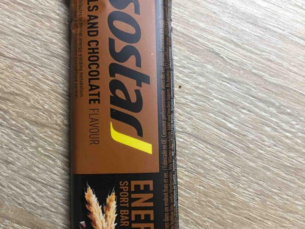 Isostar High Energy Sport Bar Chocolate Flavor, Chocolate von PierreSchuetz | Hochgeladen von: PierreSchuetz