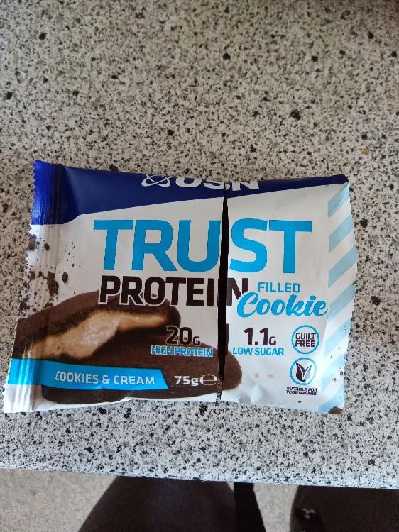 Trust filled Protein Cookie, Cookies  & Cream von SixPat   Hochgeladen von: SixPat
