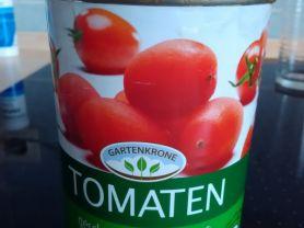 Tomaten geschält, in Tomatensaft ,Gartenkrone   Hochgeladen von: Civis