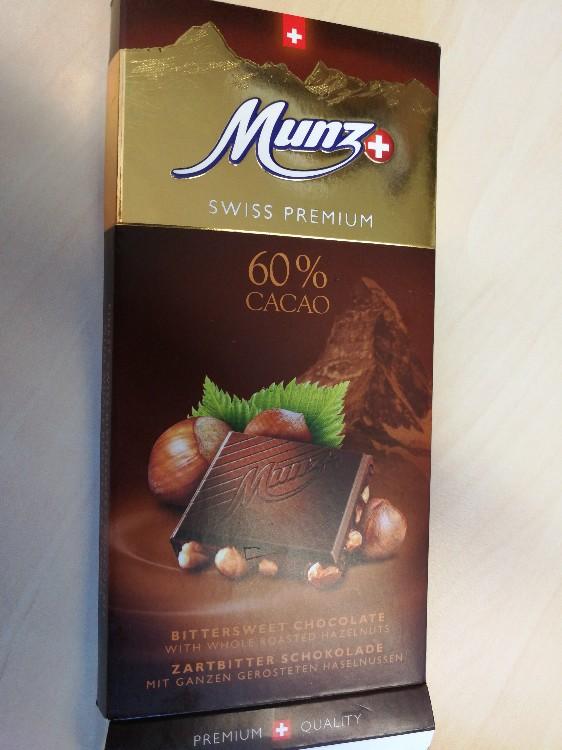 Schokolade, Zartbitter mit 60% Kakao, 20% Haselnüsse von goldrosim | Hochgeladen von: goldrosim