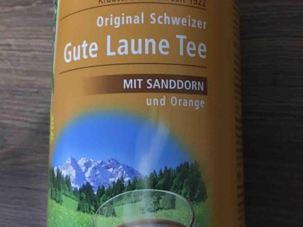 Gute Laune Tee, mit Sanddorn und Orange  von greizer   Hochgeladen von: greizer