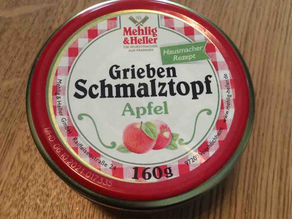 Grieben Schmalztopf Apfel, Hausmacher Rezept von diba26 | Hochgeladen von: diba26