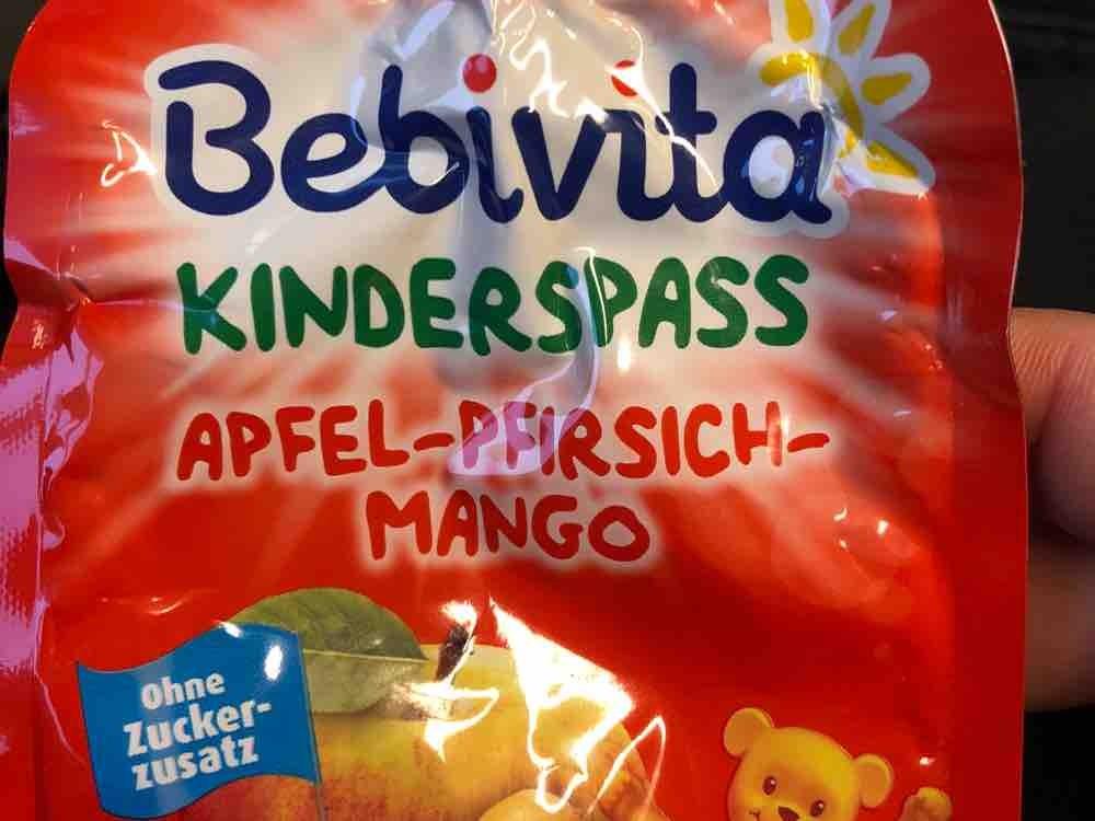 Kinderspaß Apfel-Pfirsich-Nango von Bettuey | Hochgeladen von: Bettuey