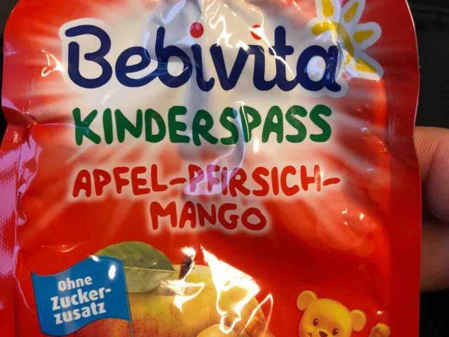 Kinderspaß Apfel-Pfirsich-Nango von Bettuey   Hochgeladen von: Bettuey
