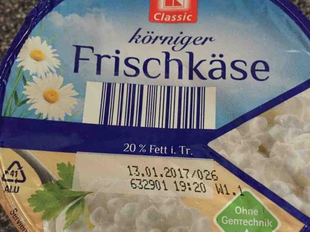 körniger Frischkäse, 20 % Fett i. Tr. von lehrerloeckchen | Hochgeladen von: lehrerloeckchen