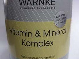 Warnke Vitamin und Mineral Komplex   Hochgeladen von: jeanmarz521