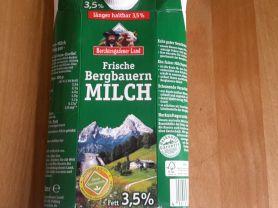 Frische Bergbauern Milch, 3,5% Fett | Hochgeladen von: subtrahine
