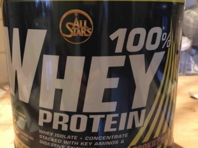 100% Whey Protein Cookies Cream von Kaltstart   Hochgeladen von: Kaltstart