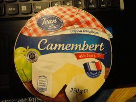 Camembert , 45% Fett i. Tr. | Hochgeladen von: reg.