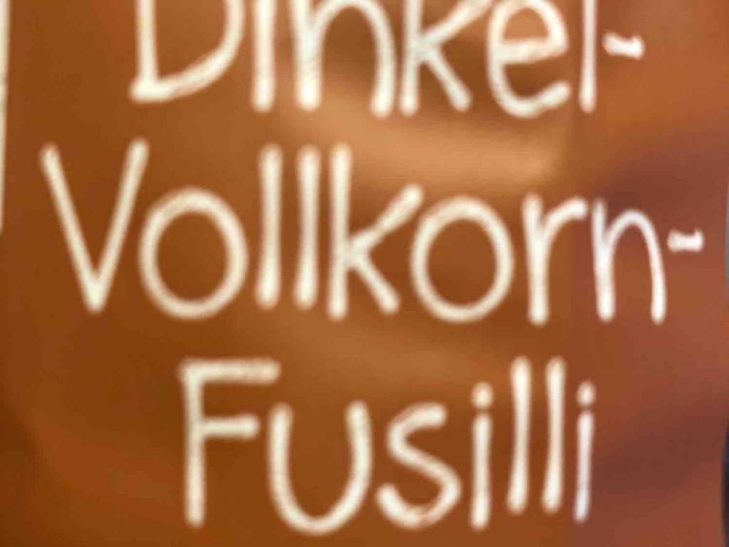 Dinkelvollkornnudeln Fusilli ohne Ei von Zumsl | Hochgeladen von: Zumsl