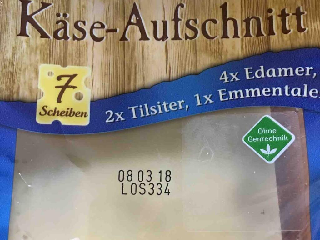 Käse-Aufschnitt, 7 Edamer(40%) 2 Tilsiter(45%) 1 Emmentaler(45%) von PeterK2808 | Hochgeladen von: PeterK2808