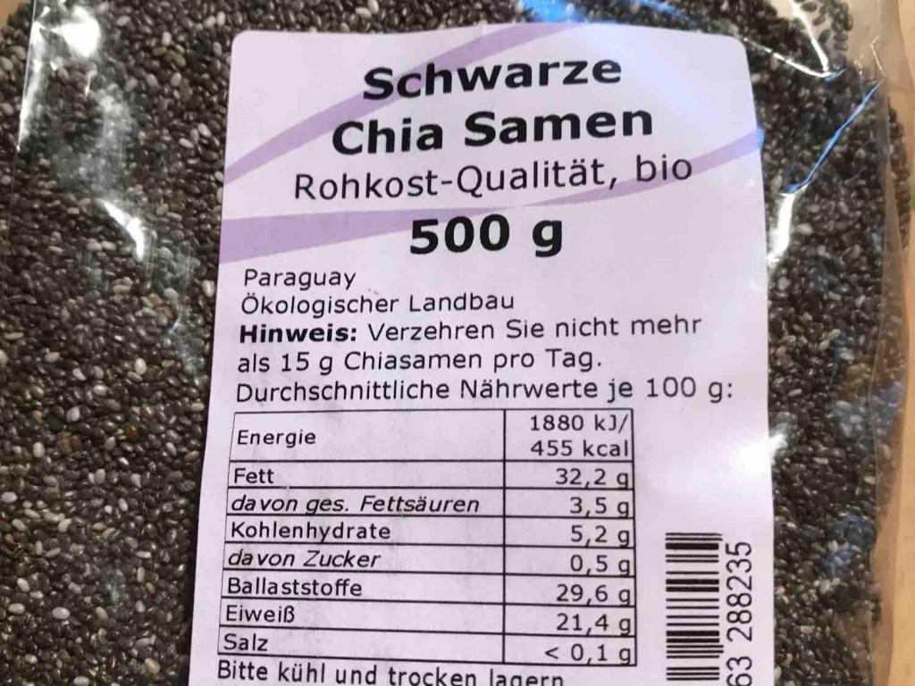 Schwarze Chia Samen, Rohkost-Qualität, bio von goldgr4   Hochgeladen von: goldgr4