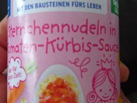 Bebivita, Sternchennudeln in Tomaten-Kürbis-Sauce   Hochgeladen von: Vivcsy