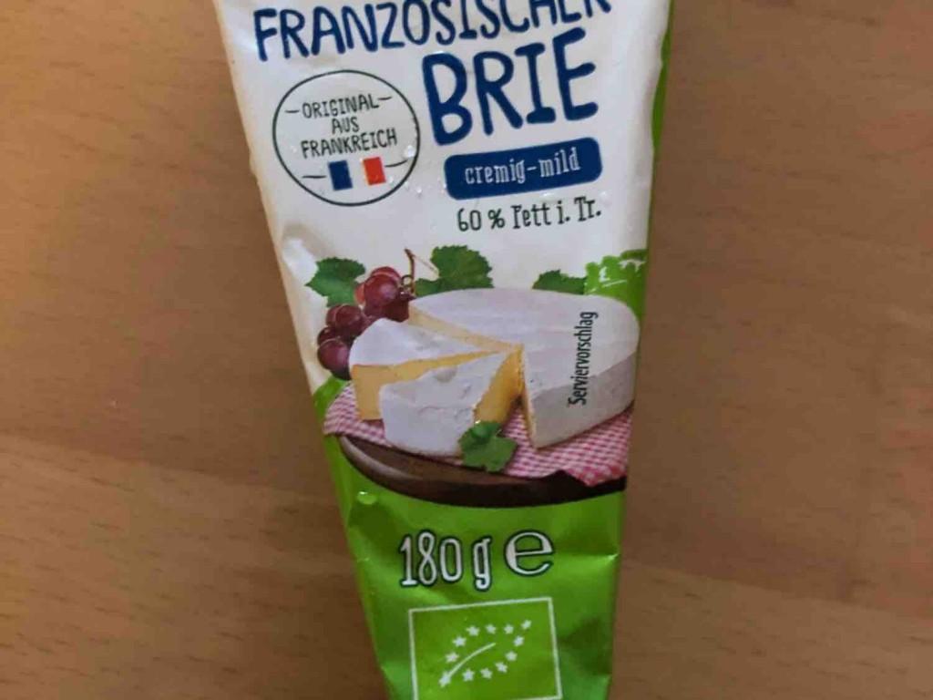 Französischer Brie Aldi, cremig-mild von Tinabaer1337   Hochgeladen von: Tinabaer1337