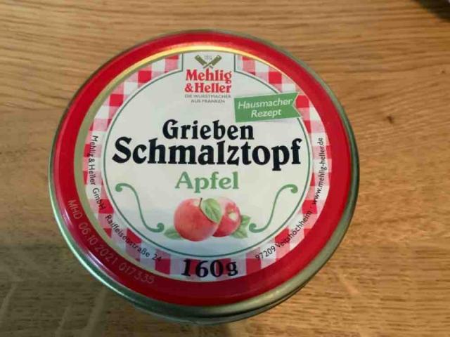 Grieben Schmalztopf Apfel, Hausmacher Rezept von hagba20 | Hochgeladen von: hagba20