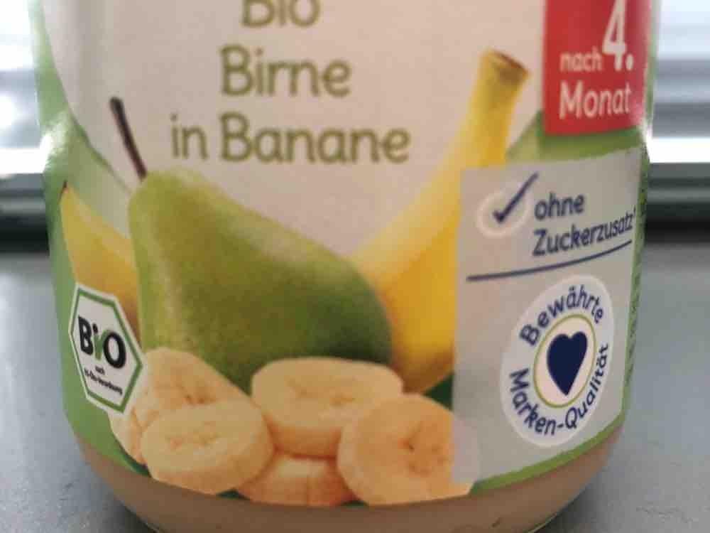 Bio Birne in Banane  von Kilya   Hochgeladen von: Kilya