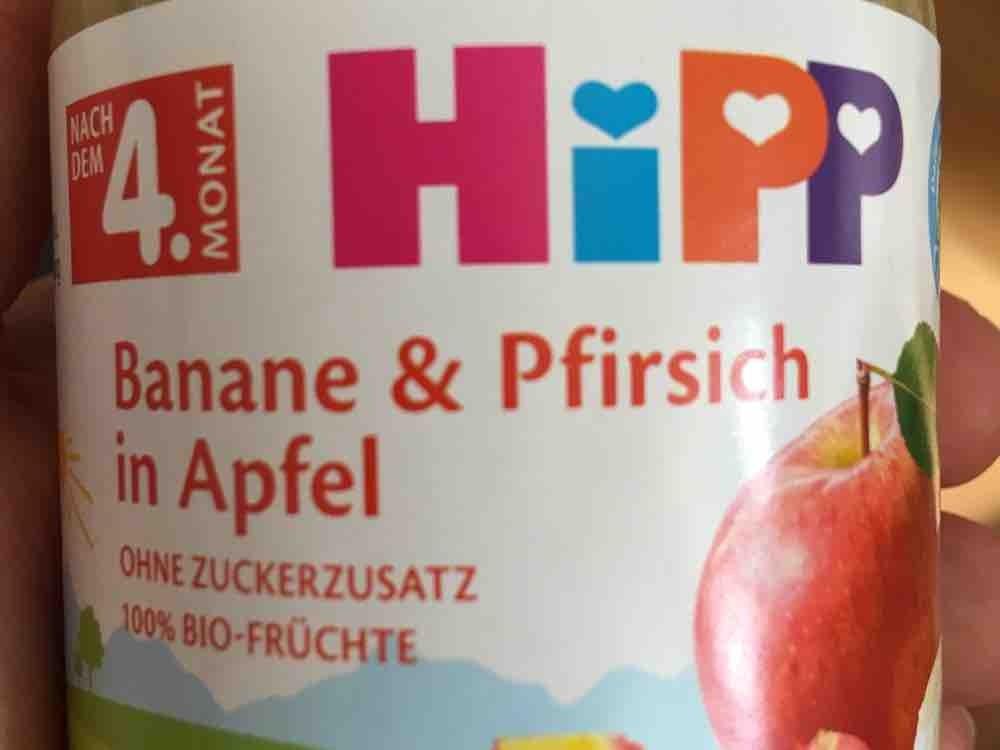 Banane & Pfirsich in Apfel von AnjaTigges | Hochgeladen von: AnjaTigges