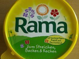 Rama mit hochwertigem Rapsöl, Vegetarisch   Hochgeladen von: Graphologe