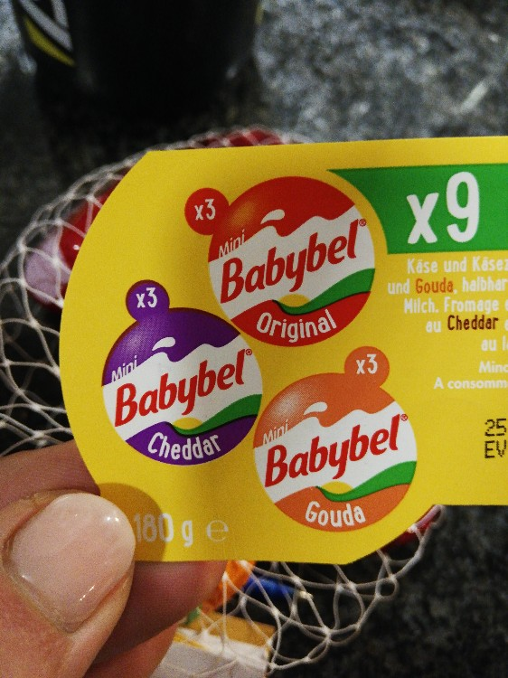 Babybel, cheddar original und gouda von prcn923   Hochgeladen von: prcn923