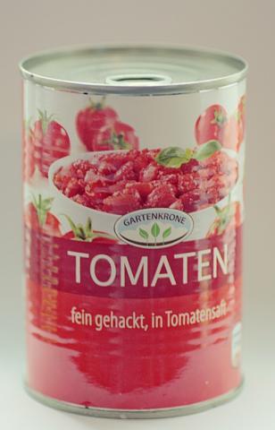 Gartenkrone, Tomaten fein gehackt | Hochgeladen von: müsli