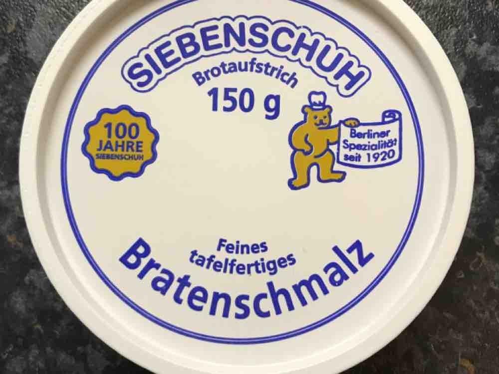 Siebenschuh feines Bratenschmalz, Schmalz von heikof72   Hochgeladen von: heikof72