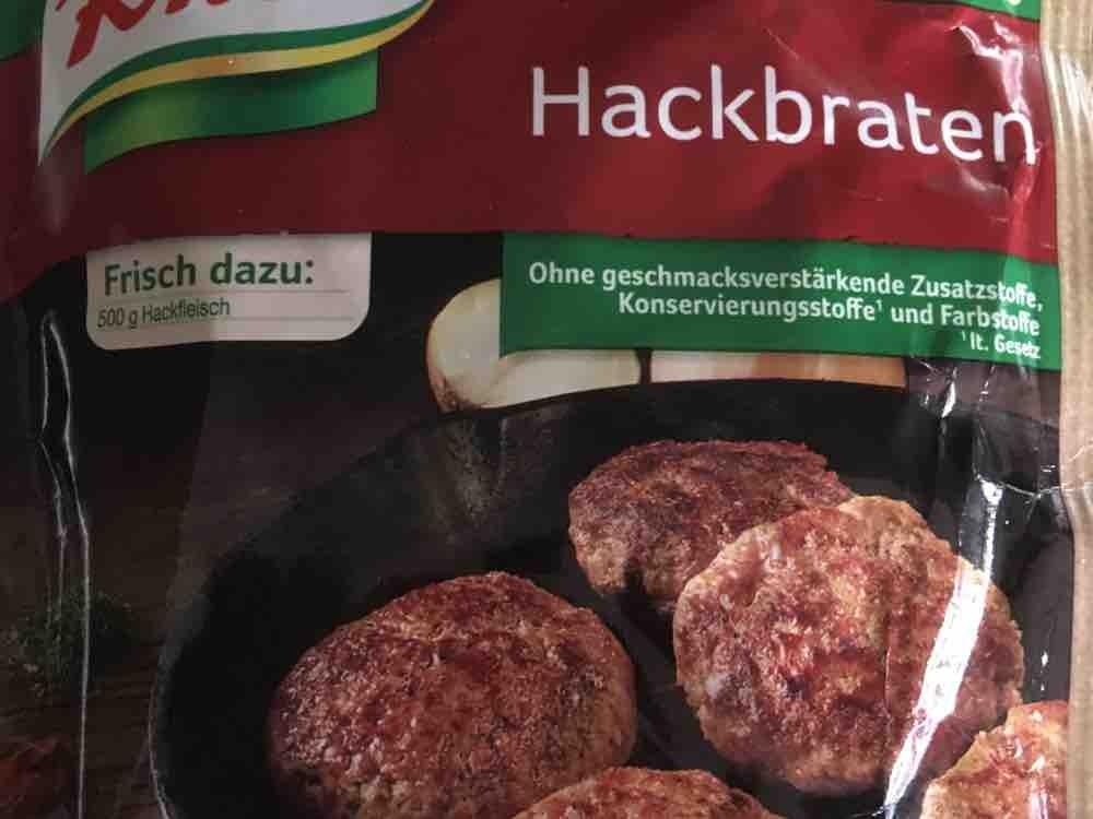 Fix fr Hackbraten  zubereitet von idgie | Hochgeladen von: idgie