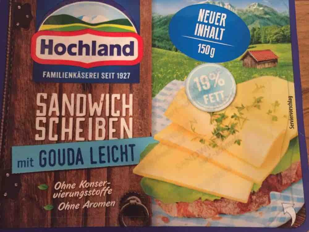 Sandwich Scheiben, mit Gouda Leicht 19% von tiriberlin | Hochgeladen von: tiriberlin