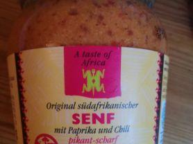 Original südafrikanischer Senf, mit Paprika und Chili   Hochgeladen von: julianreiber