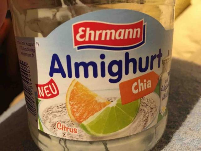 Almighurt Joghurt mild Citrus-Chia, mit 33% Citrusfrüchten, 6% Chiasamen von Heikogr | Hochgeladen von: Heikogr