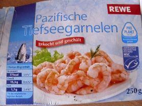 Pazifische Tiefseegarnelen, gekocht und geschält   Hochgeladen von: diekleineolga