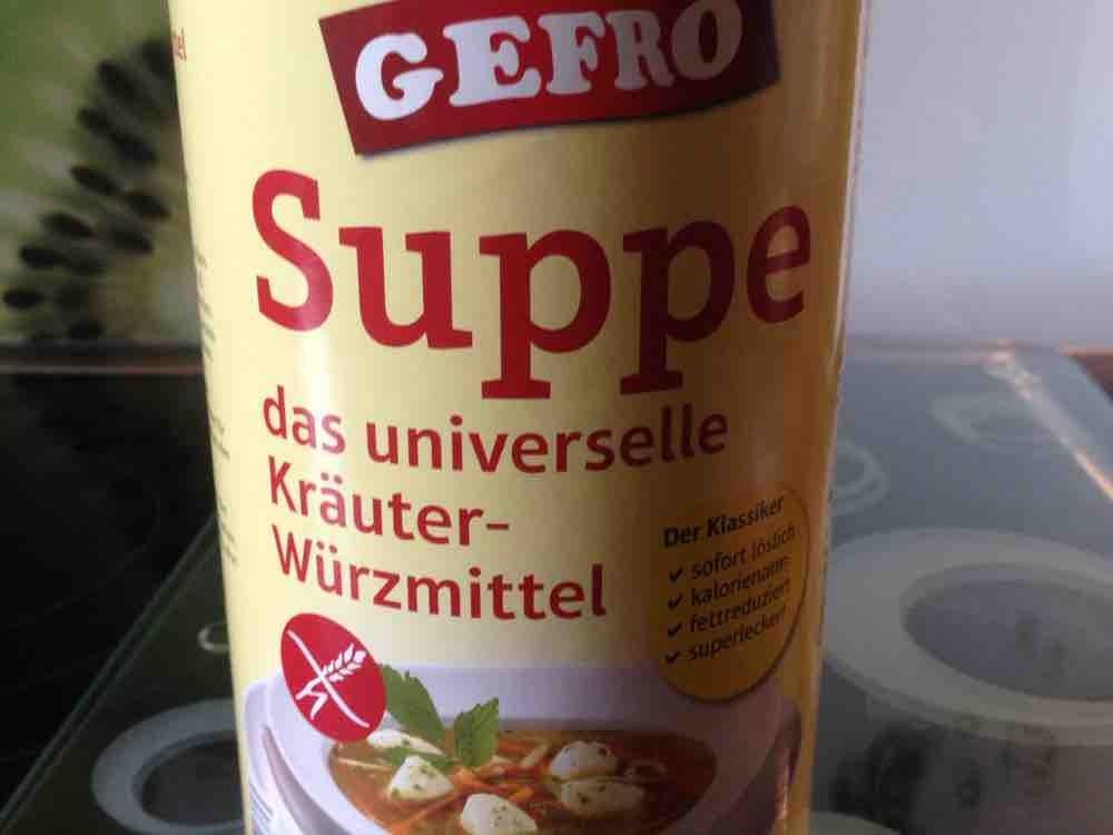 Gefro Suppe von Rix | Hochgeladen von: Rix