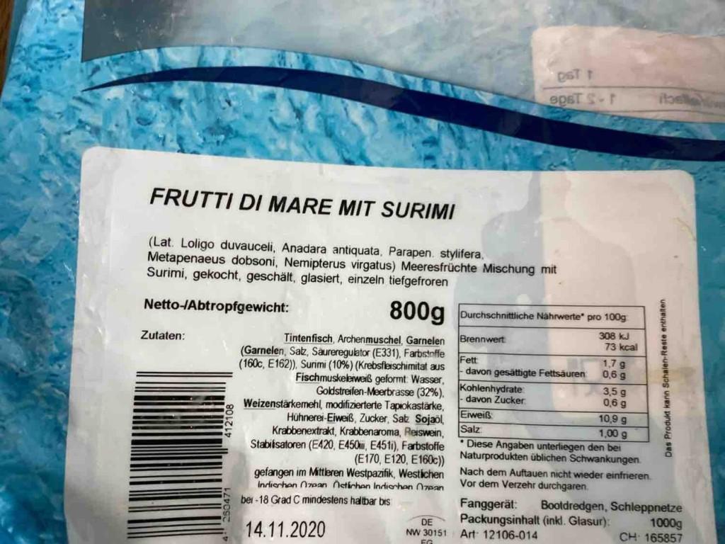 Frutti Di Mare, Meeresfrüchte Mischung mit Surimi von valentinagherghisan   Hochgeladen von: valentinagherghisan