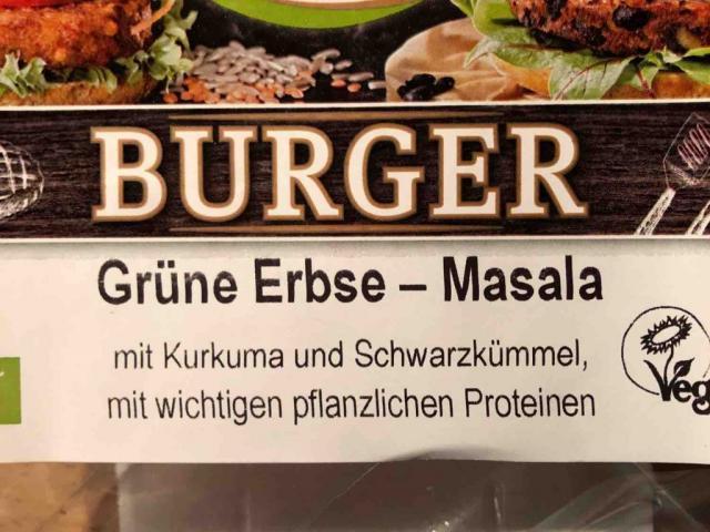 Burger Grüne Erbsen - Masala, Vegan von shanicke742   Hochgeladen von: shanicke742