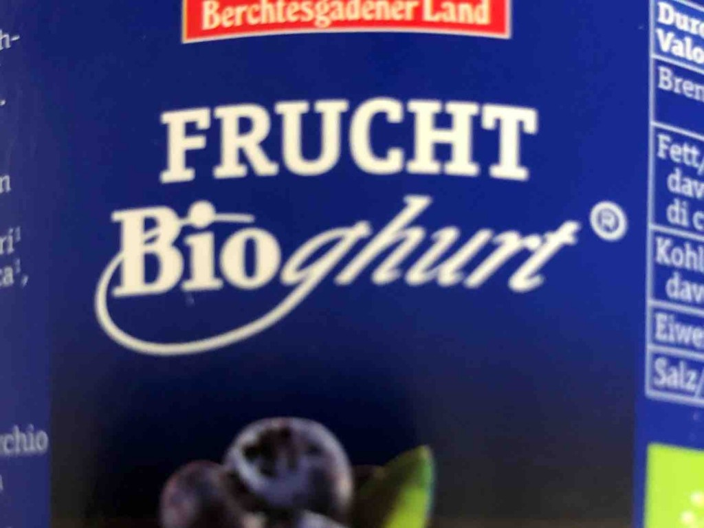 Bioghurt, Fruchtjoghurt Heidelbeeren von TommyBaby | Hochgeladen von: TommyBaby