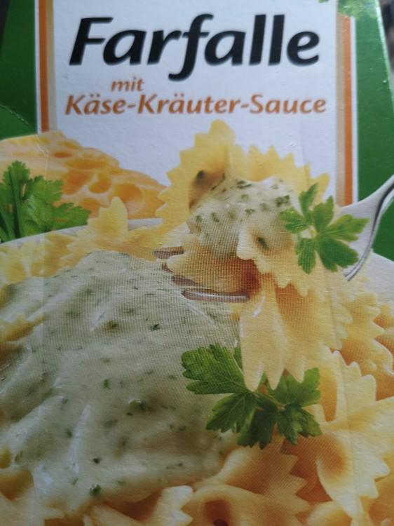 Farfalle mit Käse-Kräuter-Sauce, (zubereitet) von Harris83 | Hochgeladen von: Harris83