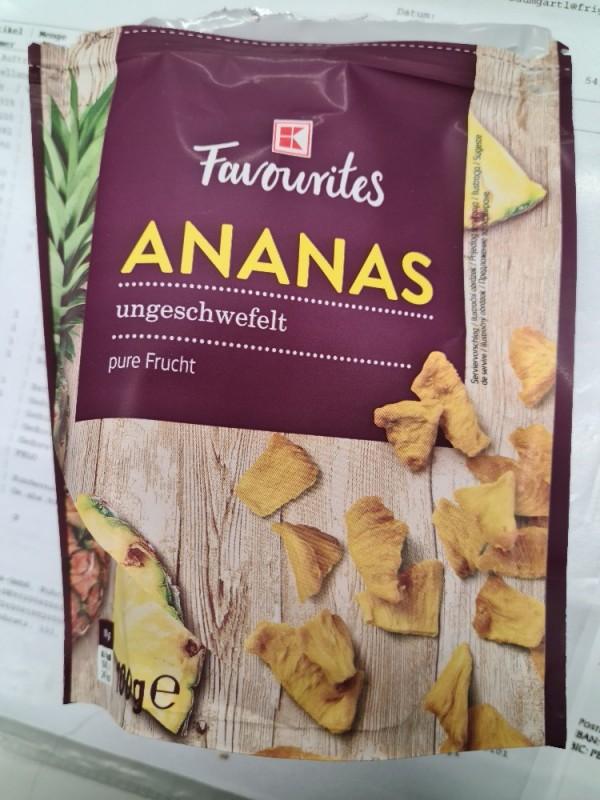 Ananas (getrocknet), ungeschwefelt, pure Frucht von Chrispaws | Hochgeladen von: Chrispaws