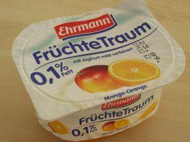 Ehrmann Früchte-Traum, Mango-Orange | Hochgeladen von: Teecreme