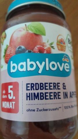 Erdbeere& Himbeere in Apfel von Mikro81 | Hochgeladen von: Mikro81