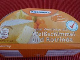 Dänischer Weichkäse, m. Weißschimmel und Rotrinde, 65%Fett i | Hochgeladen von: nikxname