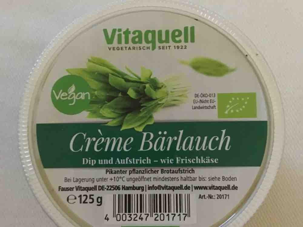 Vitaquell Aufstrich, Bärlauch von Kleusi   Hochgeladen von: Kleusi