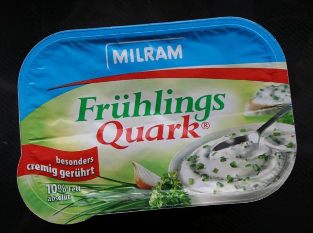 Milram Frühlingsquark 10% Fett, Kräuter | Hochgeladen von: heikiiii