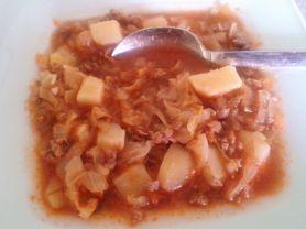 Spitzkohl mit Hackfleisch und Kartoffeln | Hochgeladen von: enele