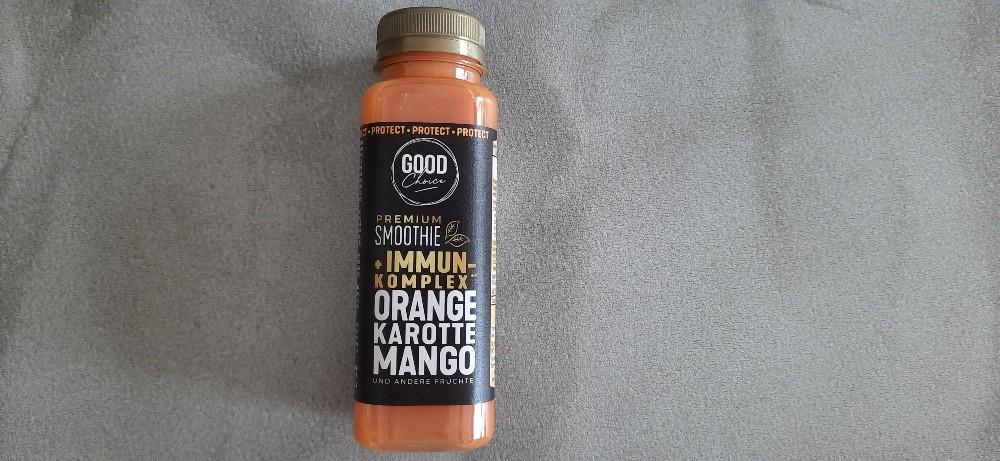 Premium Smoothie, orange karotte mango von ChickyNugget | Hochgeladen von: ChickyNugget
