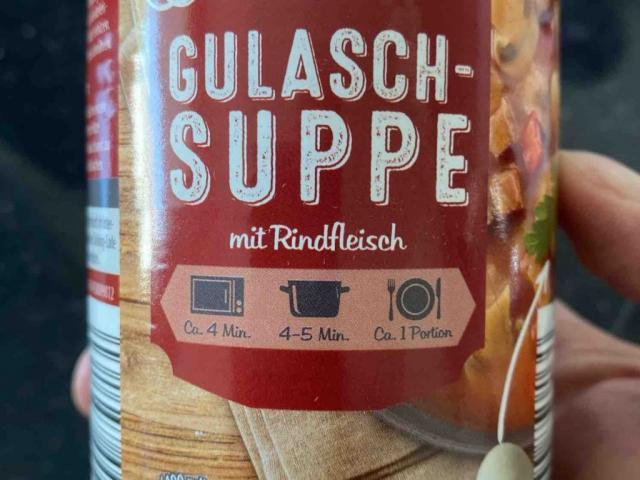Gulaschsuppe mit Rindfleisch von goreper | Hochgeladen von: goreper