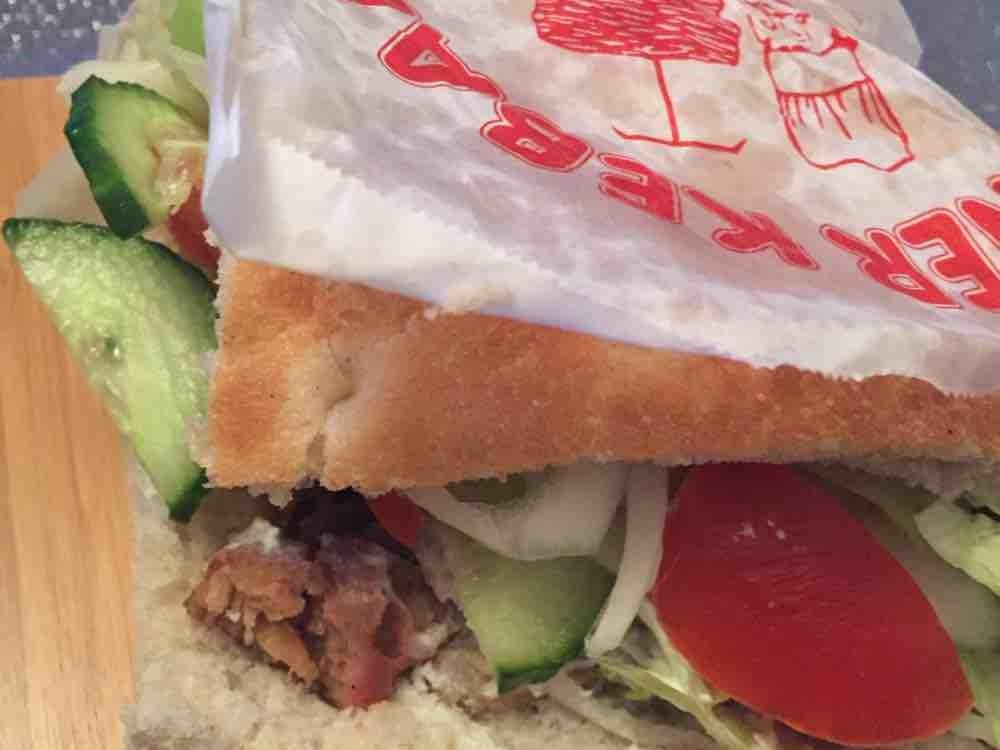 Döner Sandwich mit Kalbfleisch, vom Türkischen Imbiss von sala30 | Hochgeladen von: sala30