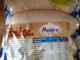 Traditionelle Münchner Weißwurst, Schweinefleisch    Hochgeladen von: Sabine34Berlin