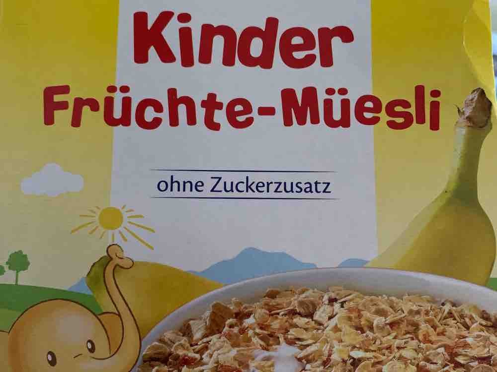 Kinder Früchtemüsli, ohne Zuckerzusatz von Skex9357 | Hochgeladen von: Skex9357