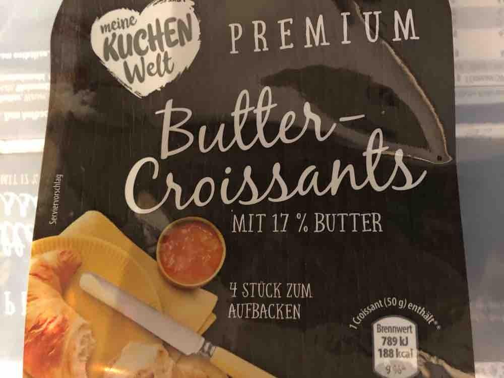 Premium Buttercroissants, Mit 17% Butter von baerbelw | Hochgeladen von: baerbelw