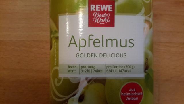 Apfelmus Rewe   Hochgeladen von: subtrahine